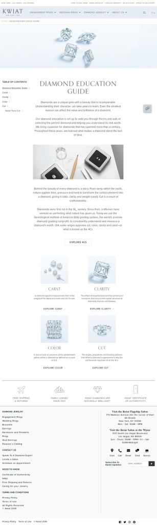 Kwiat Diamond Education Guide